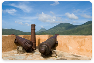 Canons - Historic Site Seeing Tours in Venezuela