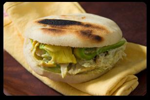 Arepa - Venezuelan Food