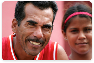 Man and female child - Venezuela